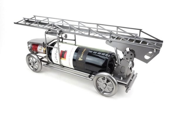 Brandweer ladderwagen wijnfleshouder