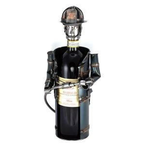 Brandweer wijnfleshouder
